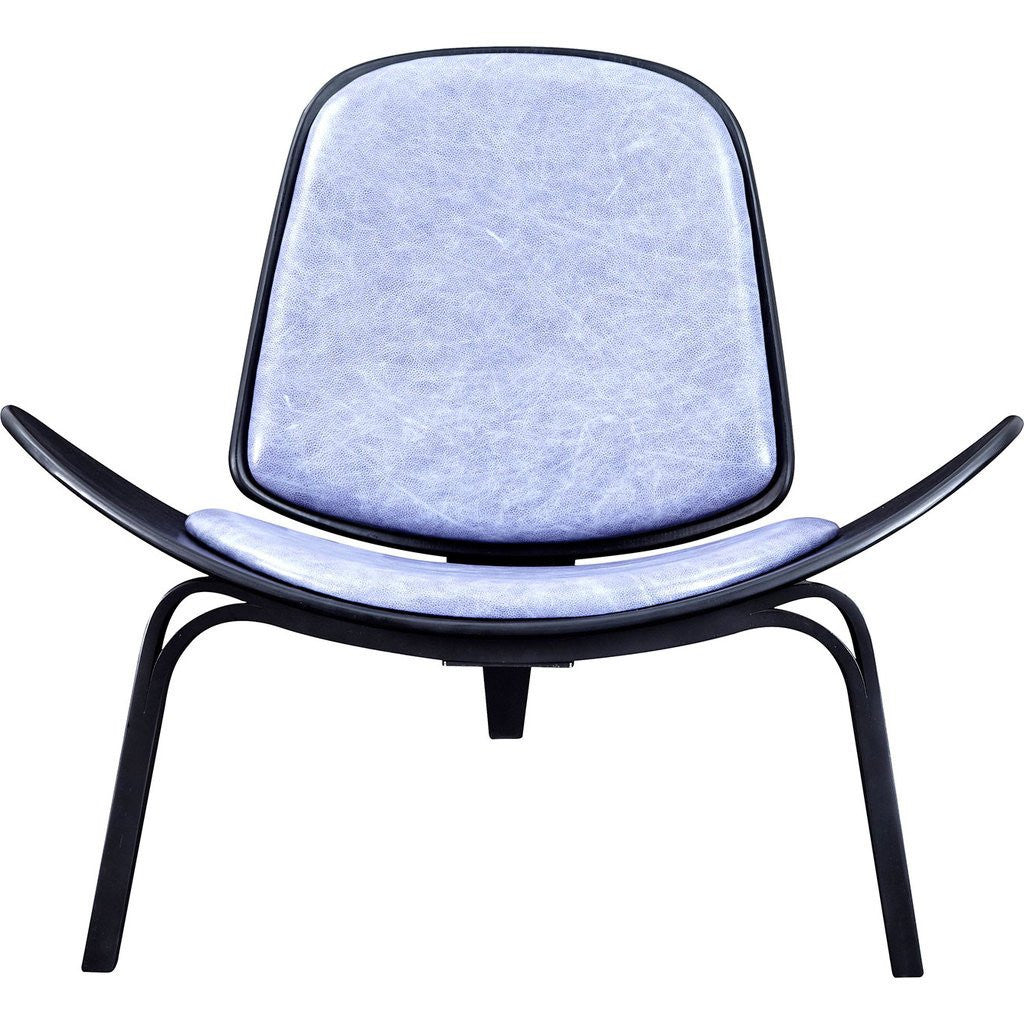 NyeKoncept Shell Chair | Black/Weathered Blue 224442-D