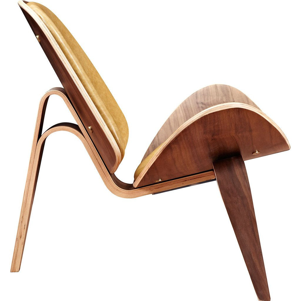NyeKoncept Shell Chair | Walnut/Aged Maple 224443-B
