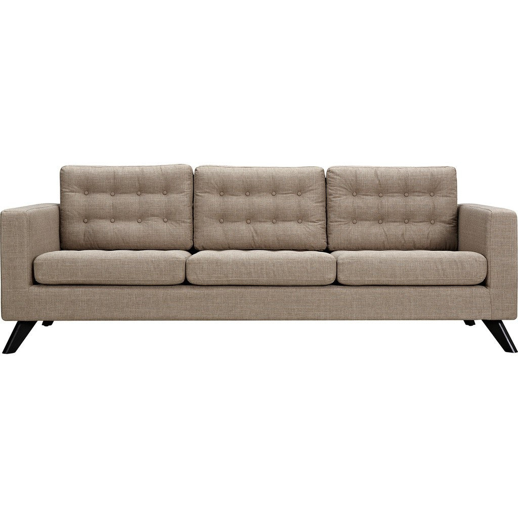NyeKoncept Mina Sofa | Black/Light Sand 224445-C