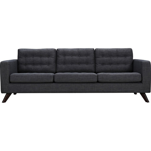 NyeKoncept Mina Sofa | Walnut/Charcoal Gray 224455-B