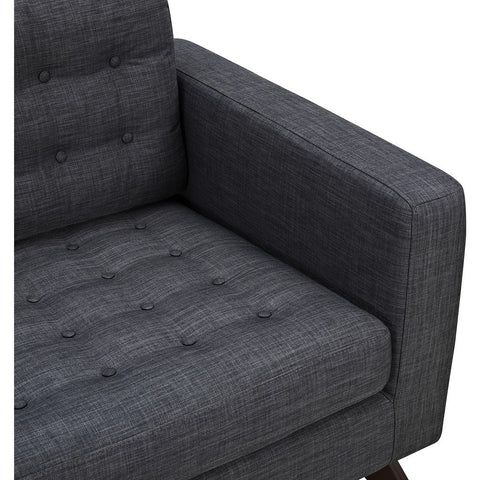 NyeKoncept Mina Sofa | Black/Charcoal Gray 224455-C