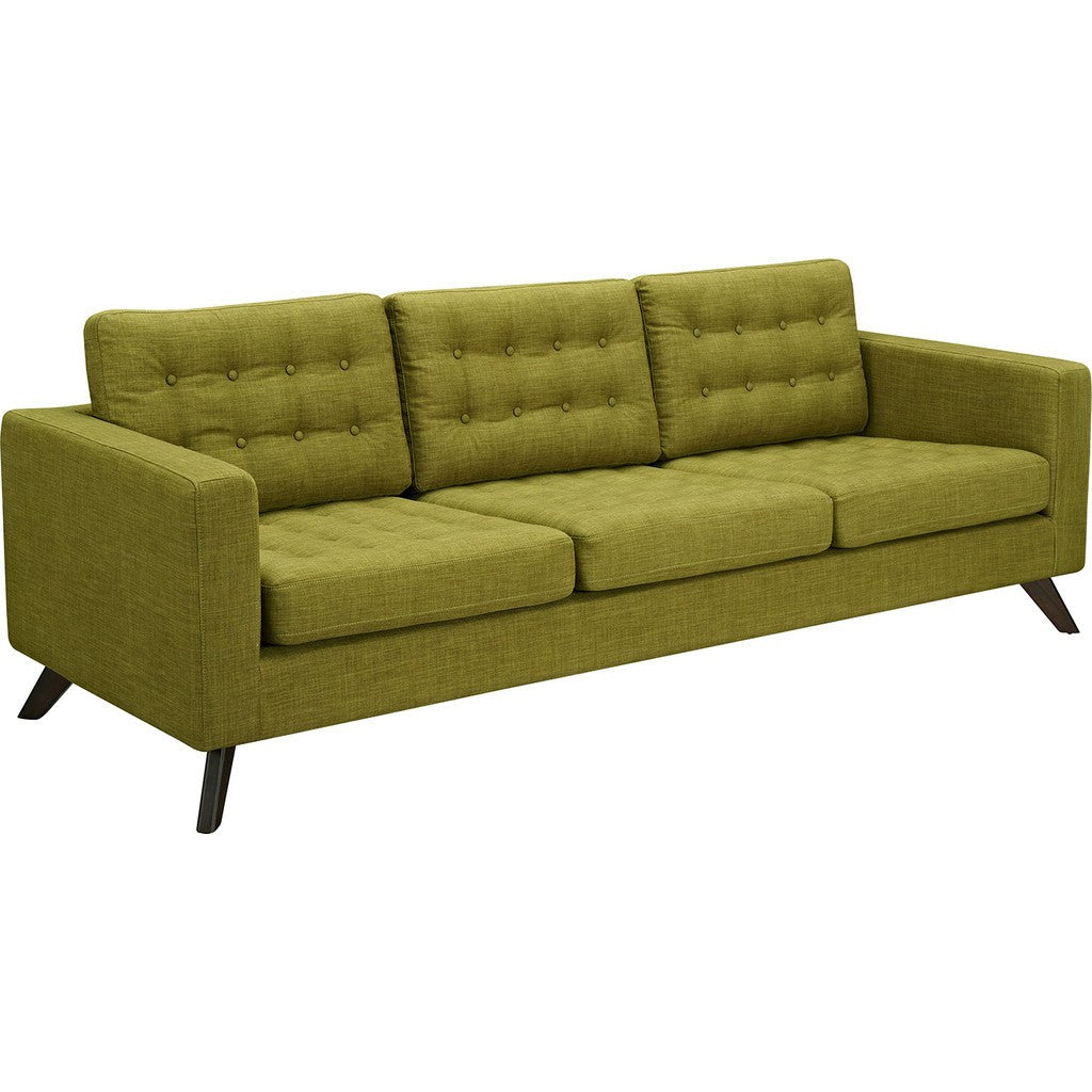 NyeKoncept Mina Sofa Set | Walnut/Avocado Green 224482-B