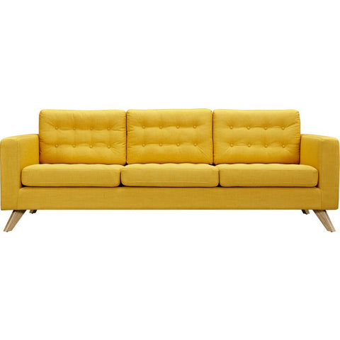 NyeKoncept Mina Sofa Set | Natural/Papaya Yellow 224483-A
