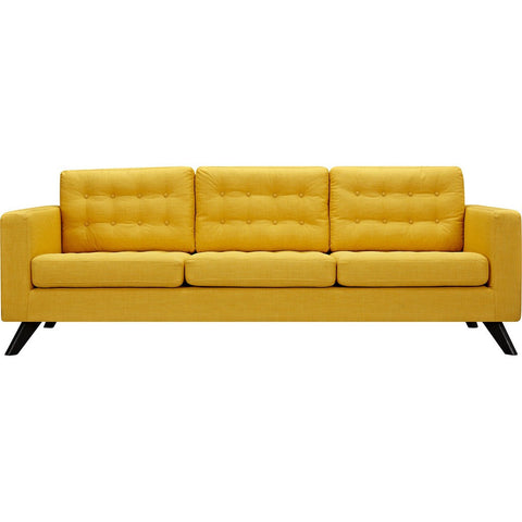 NyeKoncept Mina Sofa Set | Black/Papaya Yellow 224483-C