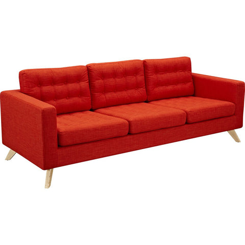 NyeKoncept Mina Sofa Set | Natural/Retro Oranege 224484-A
