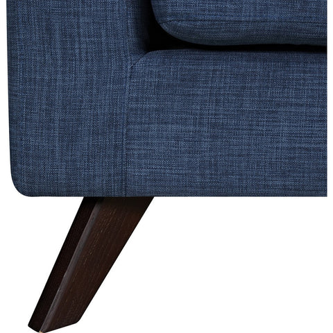 NyeKoncept Mina Sofa Set | Walnut/Stone Blue 224485-B