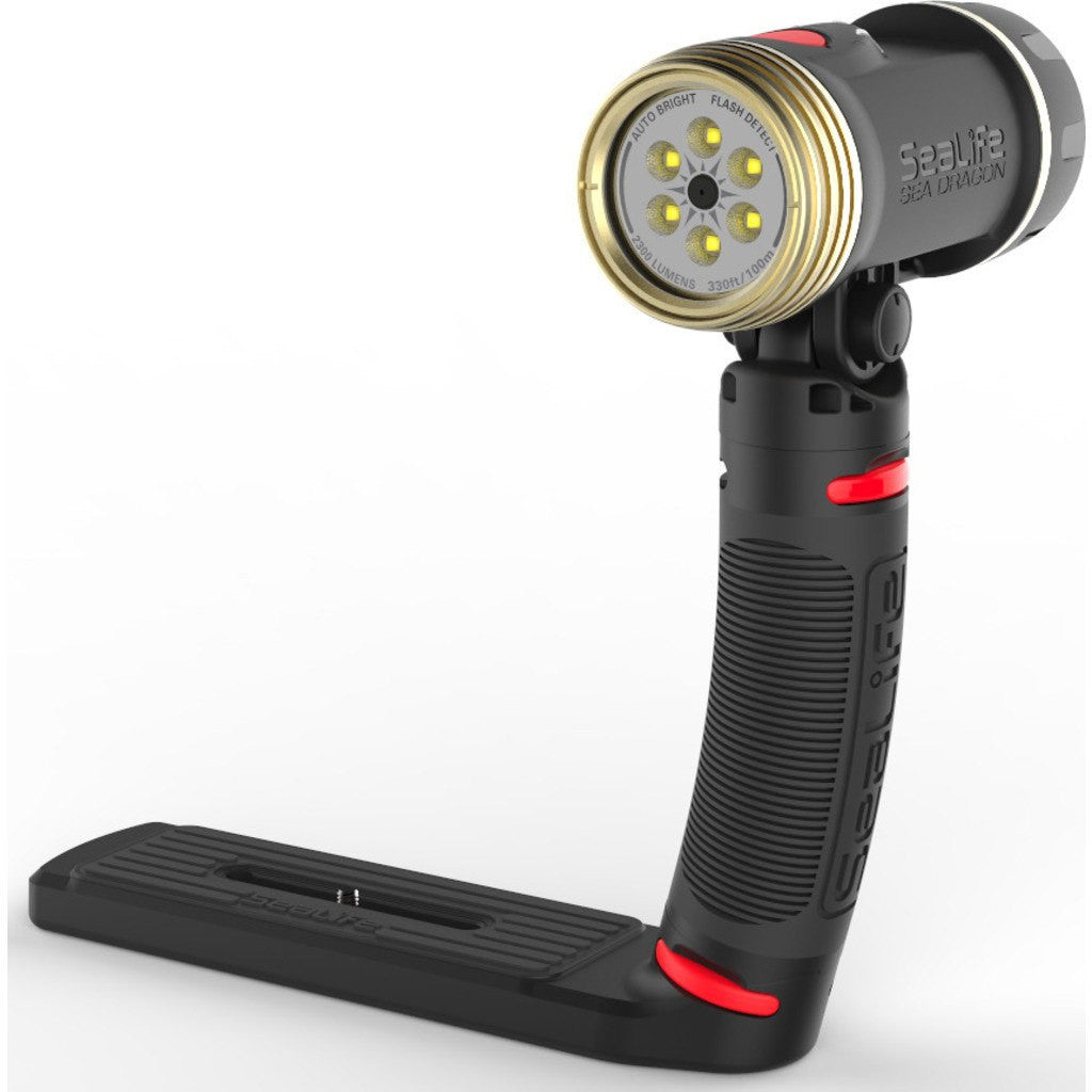 SeaLife Sea Dragon 2300 Auto UW Photo-Video Light Kit  | Black/Red/Gold SL674