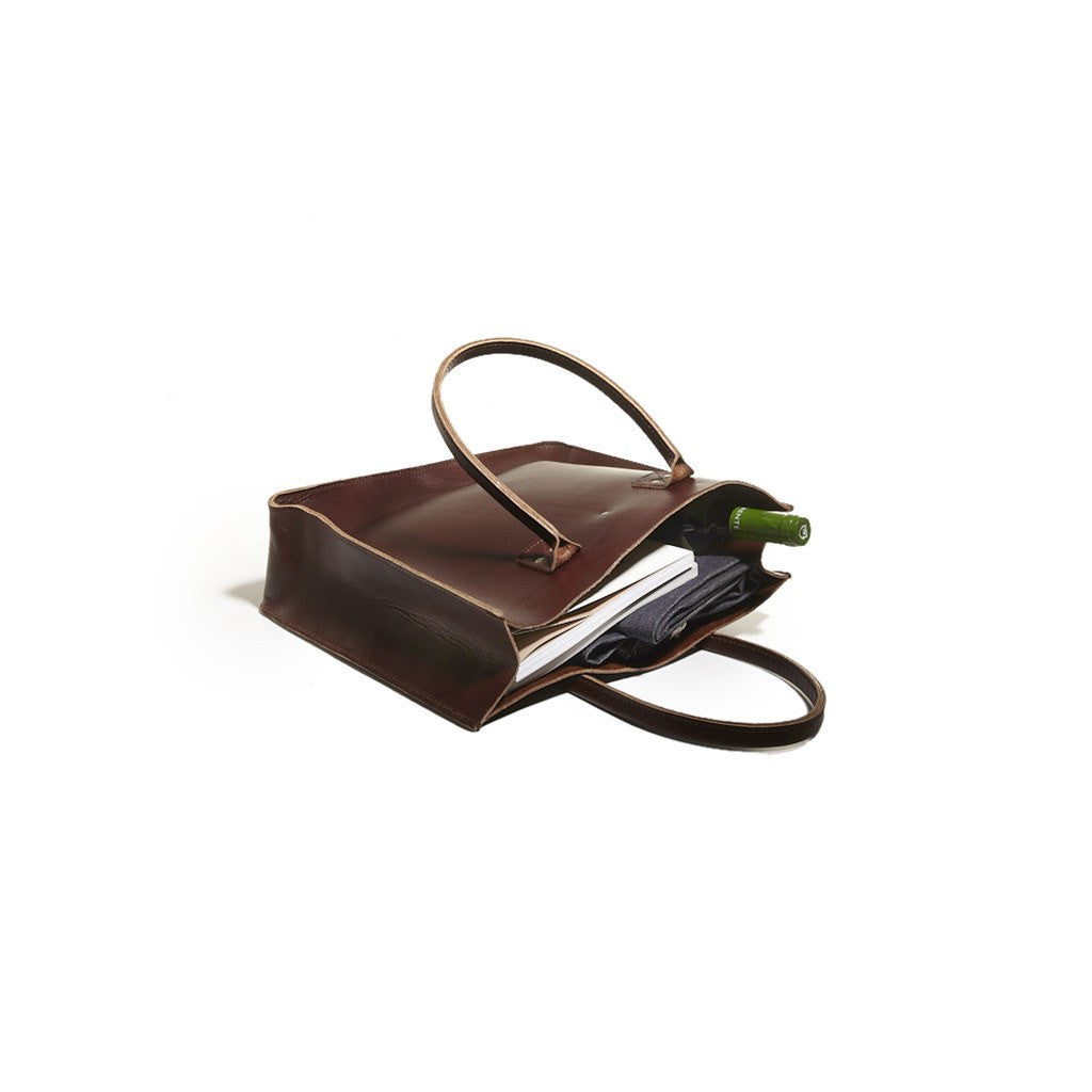 Billykirk No. 235 Leather Tote Bag | Brown Leather