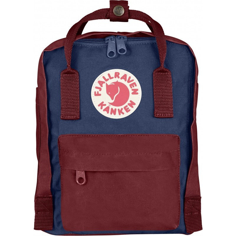 Fjällräven Kånken Mini Backpack | Royal Blue / Ox Red