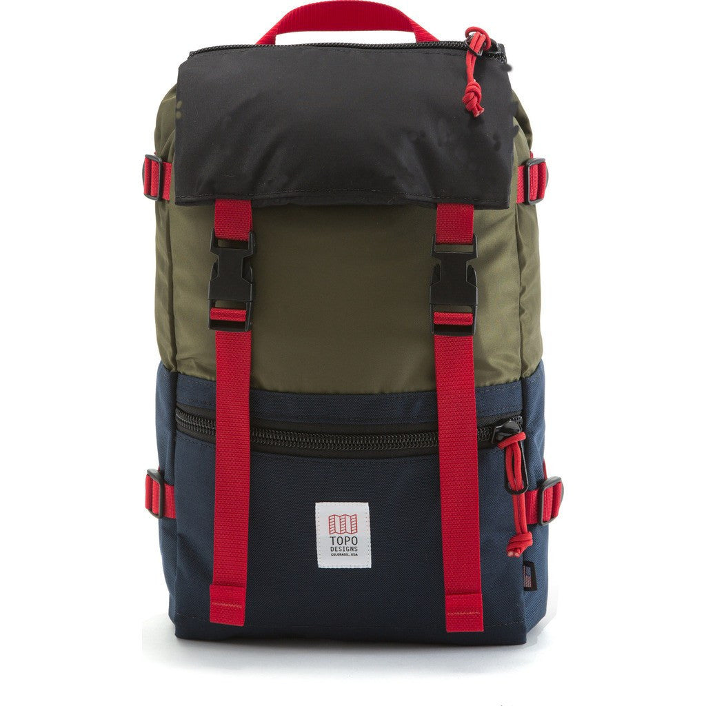 Topo Designs Rover Pack Backpack | Olive/Navy