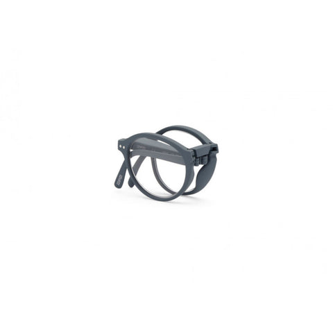 Izipizi Foldable Reading Glasses F-Frame | Grey Soft