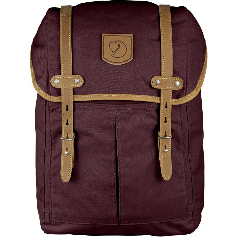 Fjällräven Rucksack No. 21 Medium Backpack | Dark Garnet