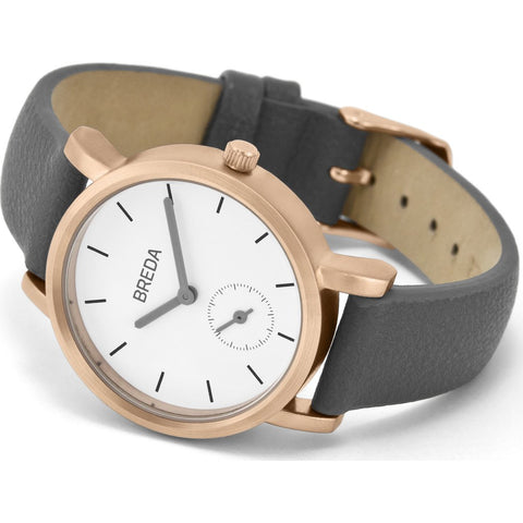 Breda Watches Palette Watch | Rose Gold/Gray 2456c