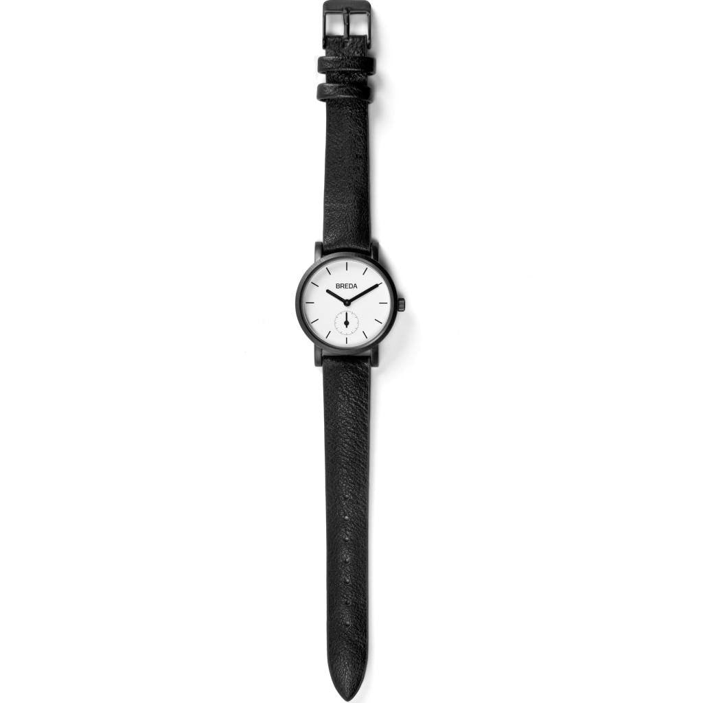Breda Watches Palette Watch | Black/Black 2456e