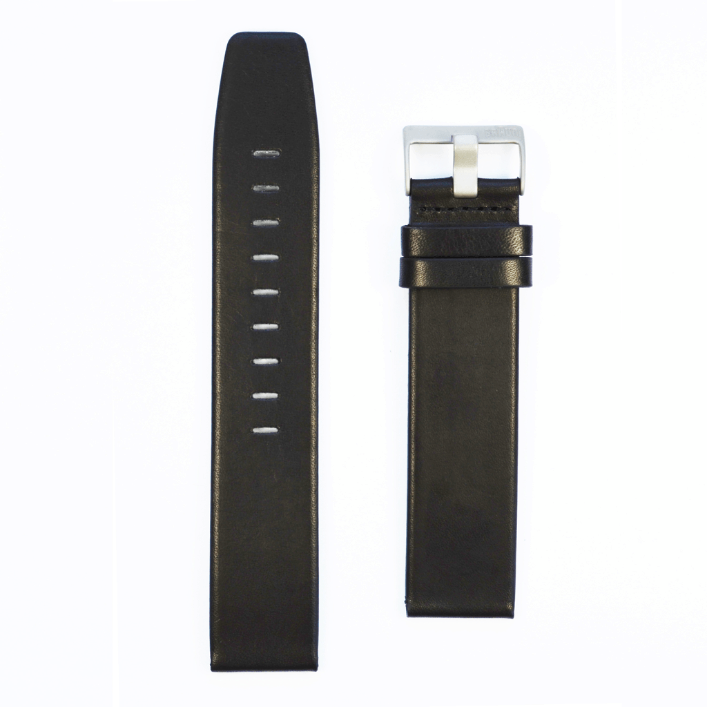 Braun Mens BN0024 WHG Leather Strap | Black