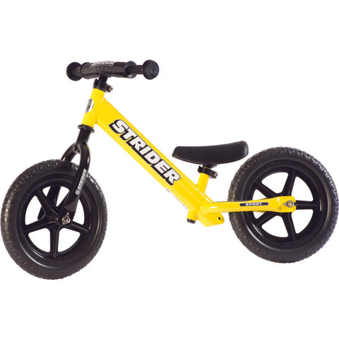 Strider 12 Sport Kid's Balance Bike | Yellow ST-S4YE