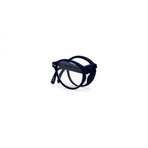 Izipizi Foldable Reading Glasses F-Frame | Navy Blue Soft