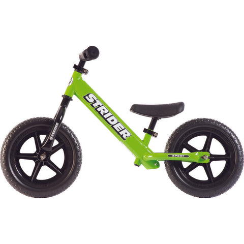 Strider 12 Sport Kid's Balance Bike | Green ST-S4GN