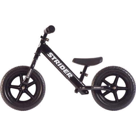 Strider 12 Sport Kid's Balance Bike | Black ST-S4BK