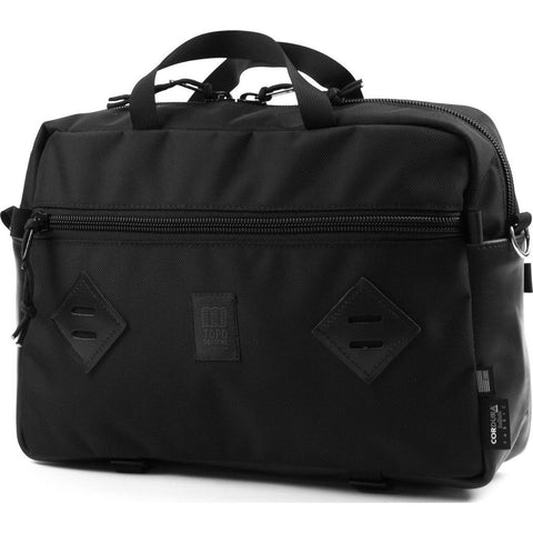 Topo Designs Mountain Briefcase | Ballistic/Black Leather