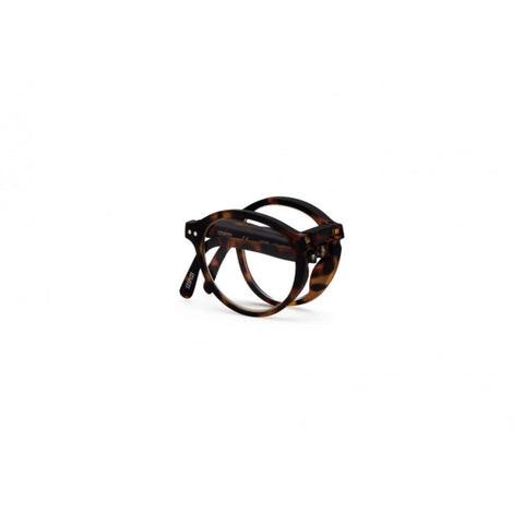 Izipizi Foldable Reading Glasses F-Frame | Tortoise Soft
