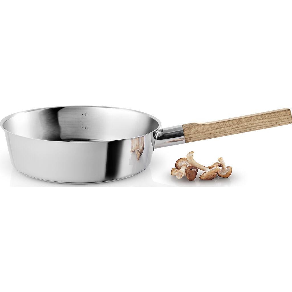 Eva Solo Nordic Kitchen Stainless Steel Saute Pan w/ Lid |  24cm 281424