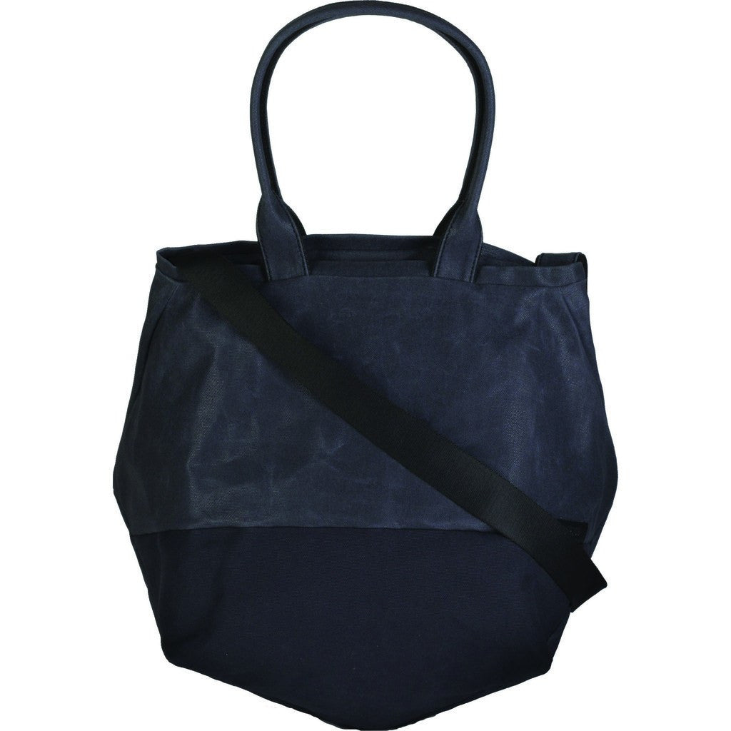 Cote&Ciel Kalix Medium Coated Canvas Tote Bag | Lava Rock 28329