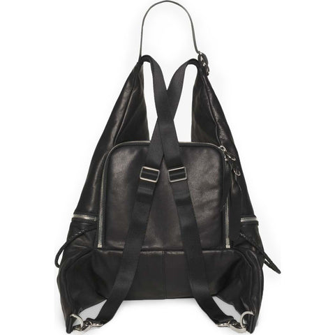 Cote&Ciel Ganges Small Alias Cowhide Leather Backpack | Agate Black 28374