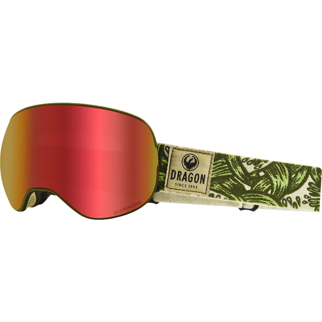 Dragon Alliance X2 Snow Goggles | with LumaLens