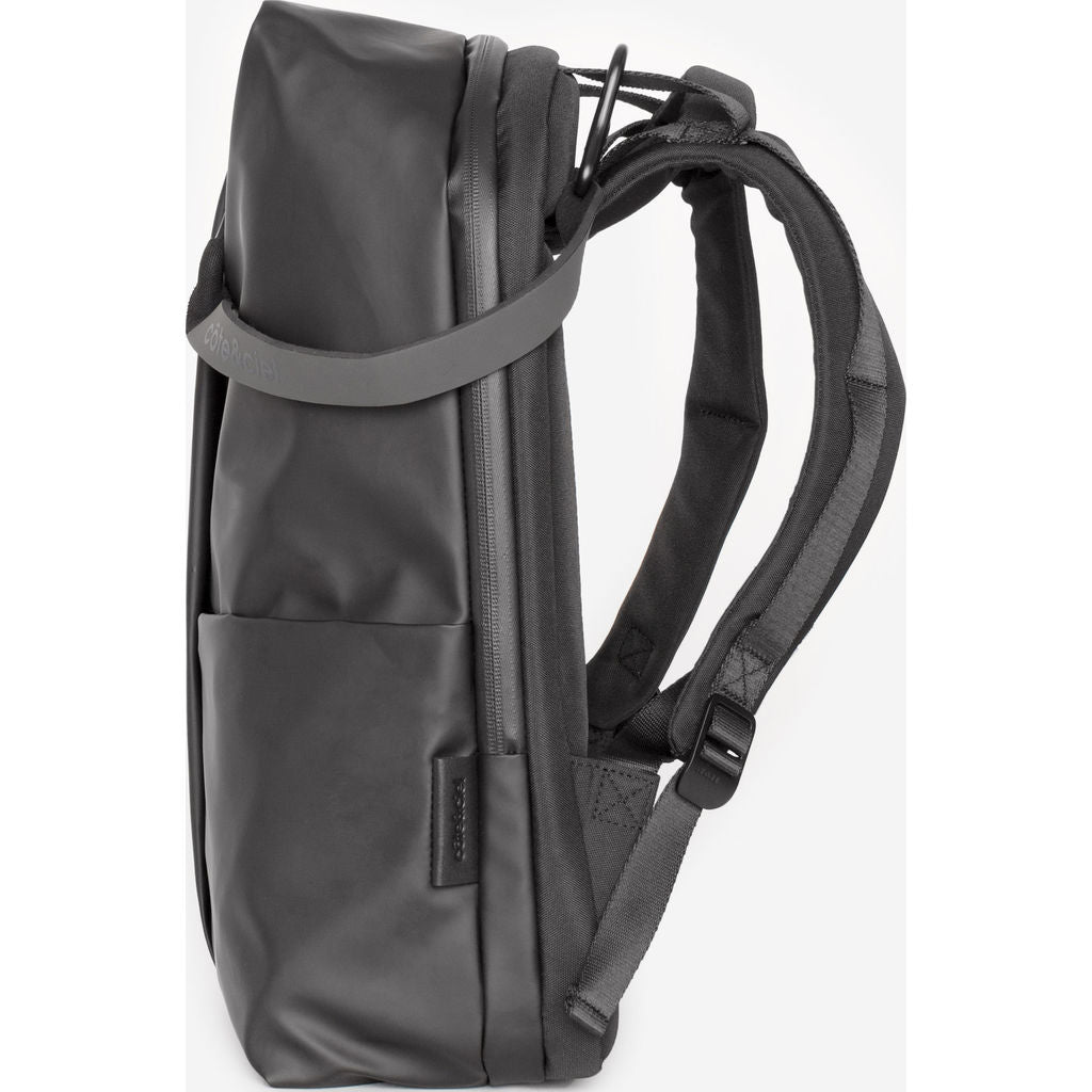 Cote&Ciel Sormonne Obsidian Backpack | Black