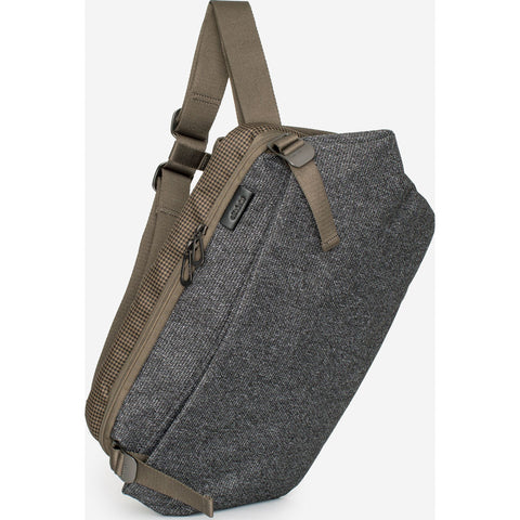 Cote & Ciel Riss Grampian Messenger Bag | Grey 28715
