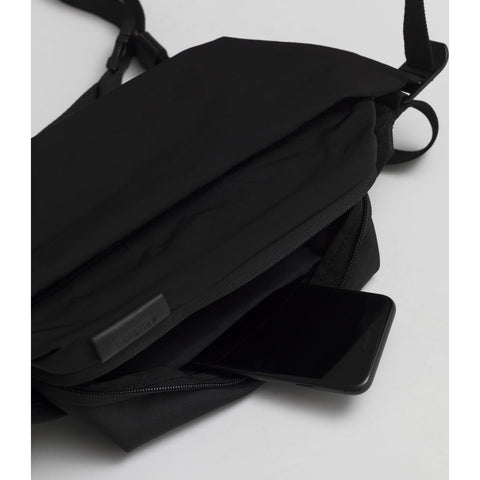 Cote & Ciel Isarau Small Memory Tech Sling Bag | Black 28719