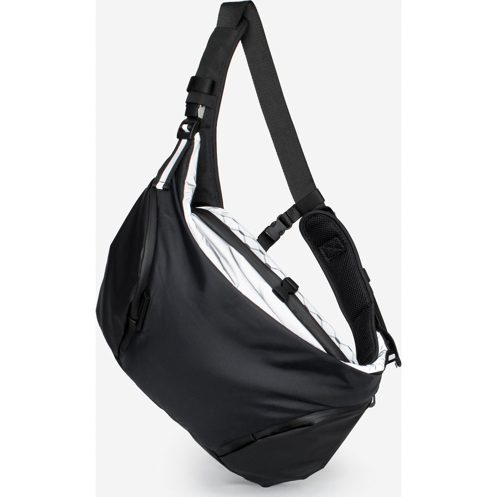 Cote & Ciel Oder-Spree Mimas Messenger Bag | Black 28725