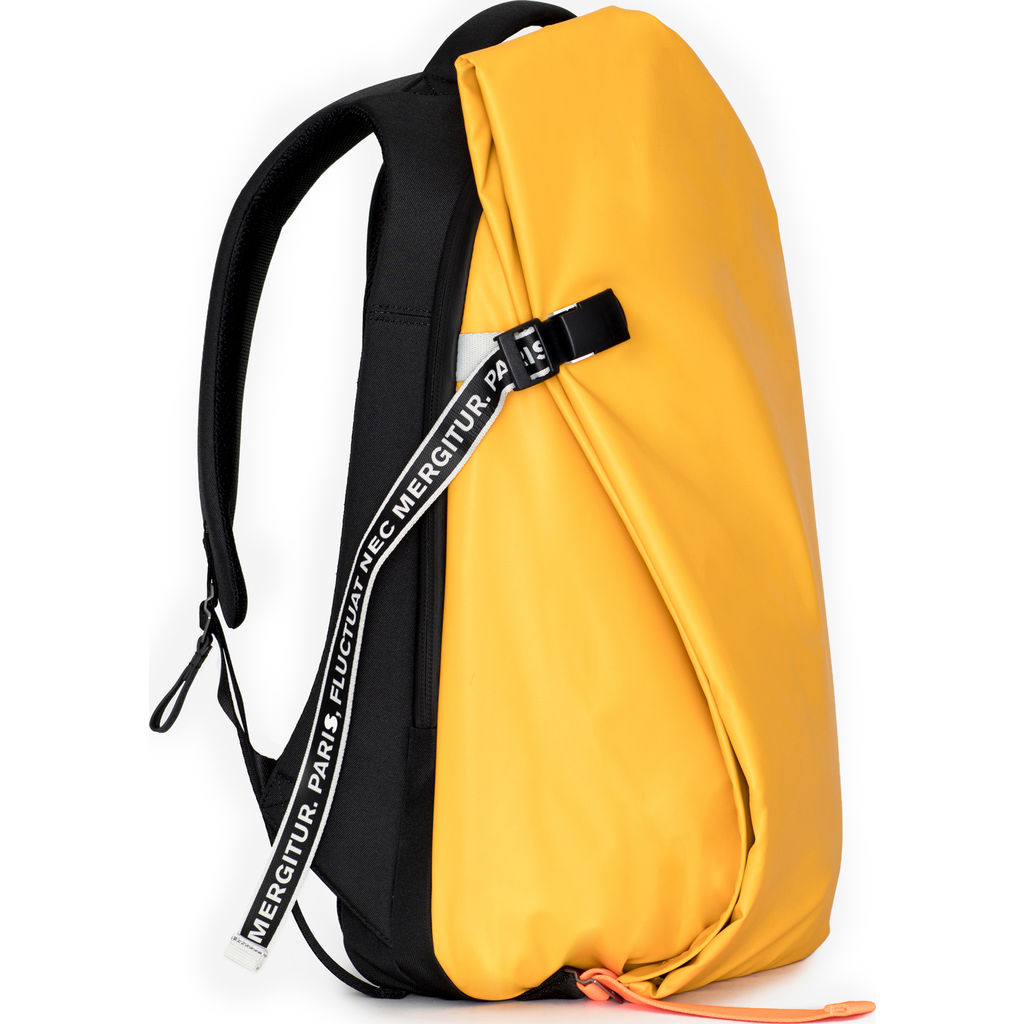 Cote&Ciel Isar Undercover Backpack | Ocre Yellow --Medium 28735