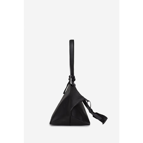 Cote&Ciel Amu Crossover Shoulder Bag | Black Coated Canvas 28761