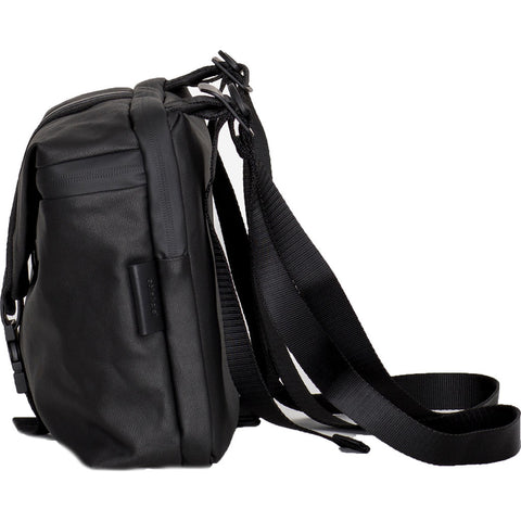 Cote&Ciel Yakima Multifunctional Bag | Black Coated Canvas 28764