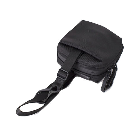 Cote&Ciel Ems Ballistic Black Crossbody Bag