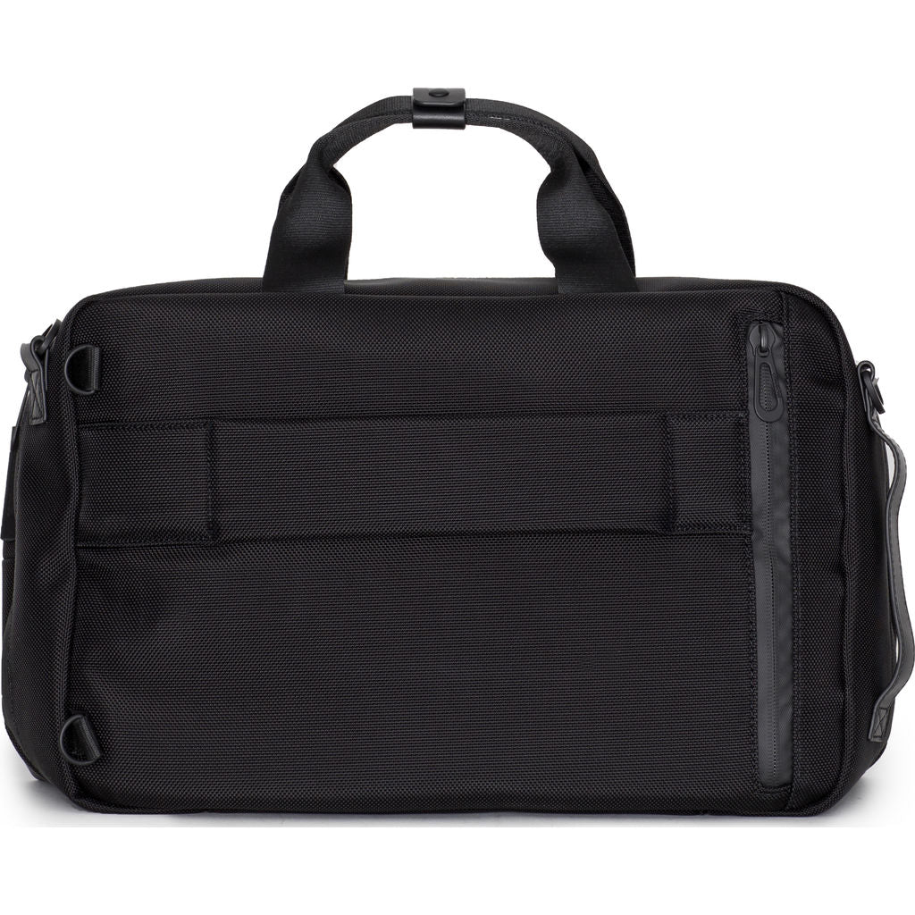 Cote&Ciel Garonne Briefcase Bag | Ballistic Black 28775