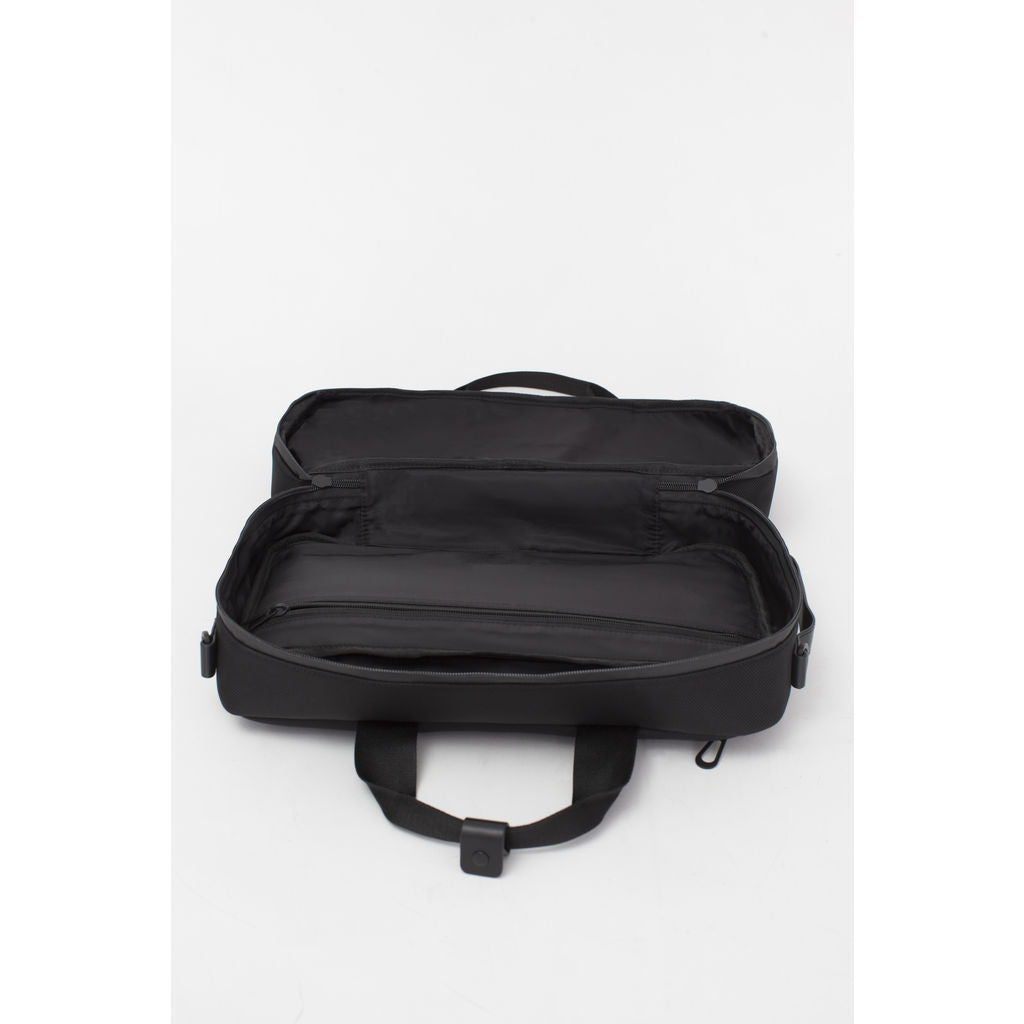 Cote&Ciel Garonne Briefcase Bag | Ballistic Black 28783