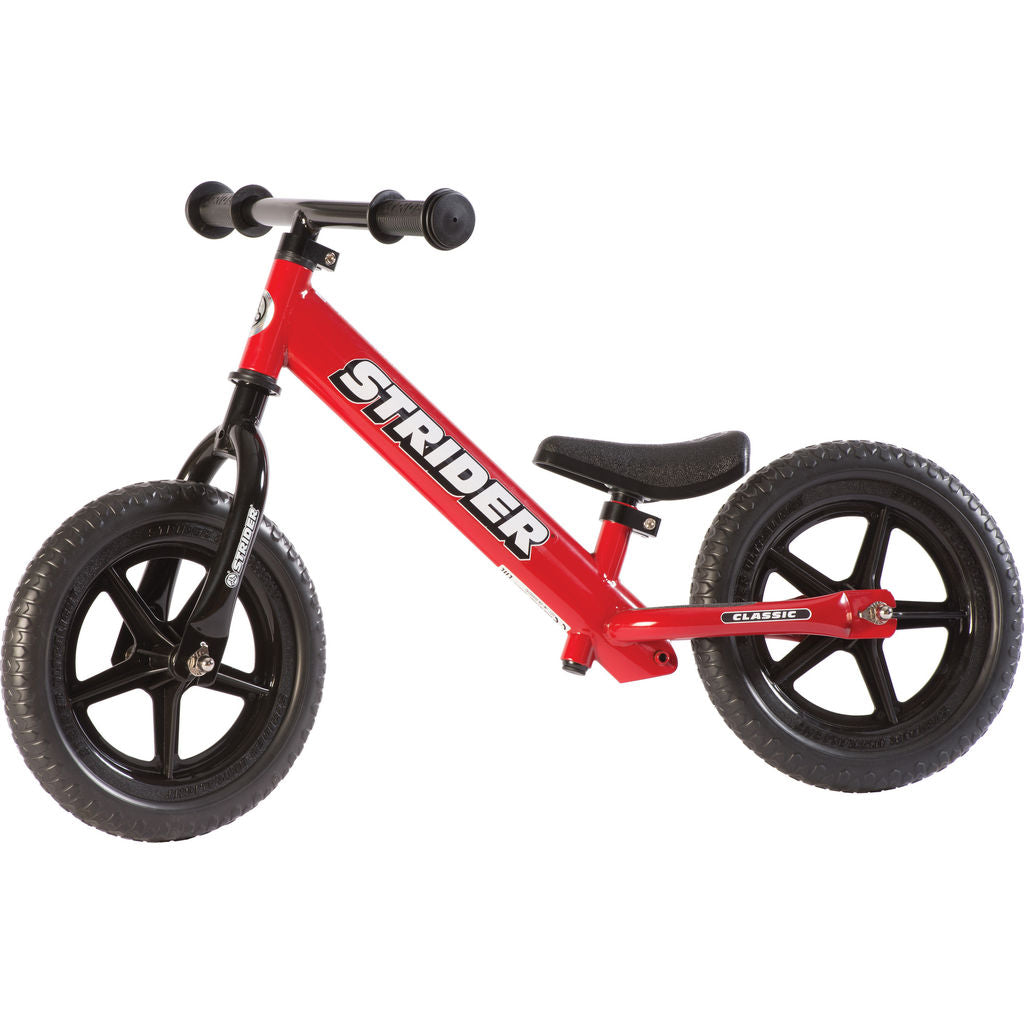 Strider 12 Classic Kid's Balance Bike | Red ST-M4RD