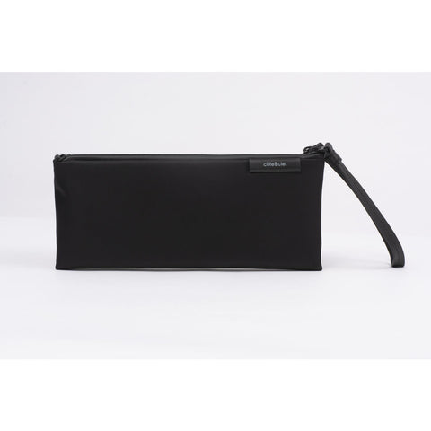 Cote & Ciel Loki Sleek Nylon Clutch | Black