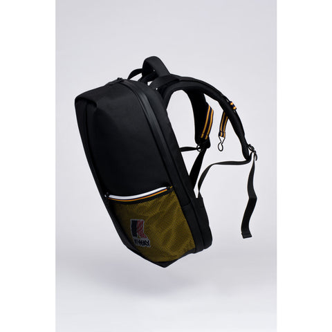 Cote & Ciel Sormonne Eco Yarn Backpack | Black/Yellow