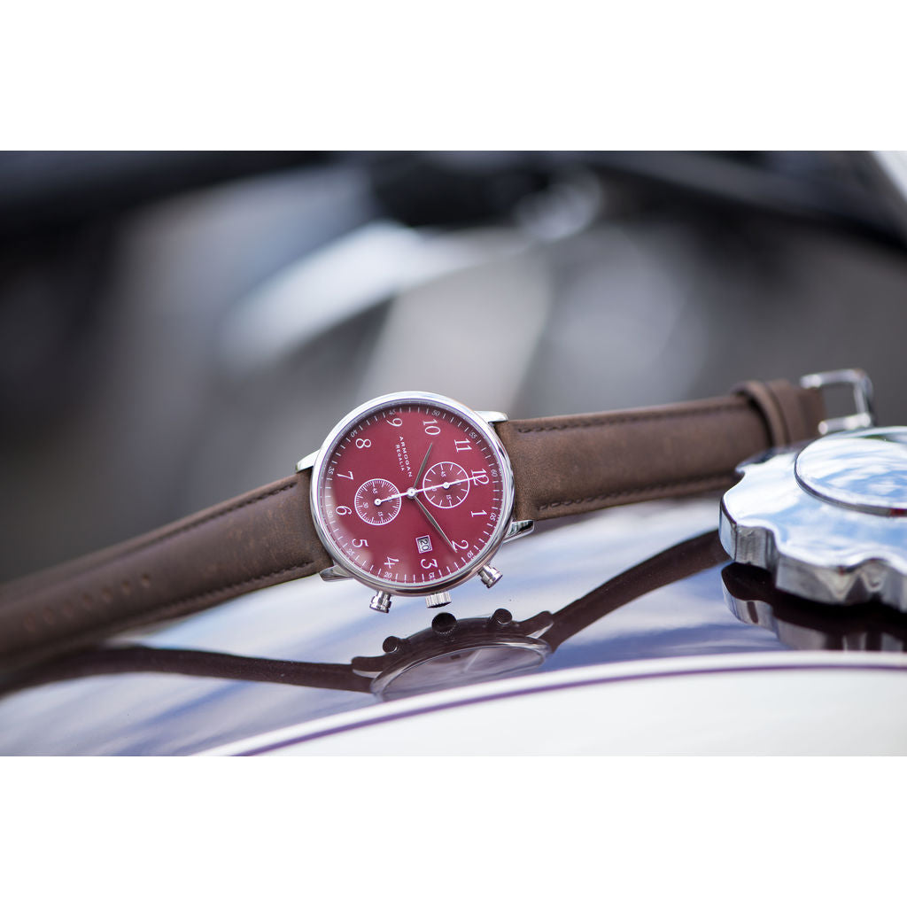 Armogan Regalia C-71 Chronograph Watch | Red Ruby