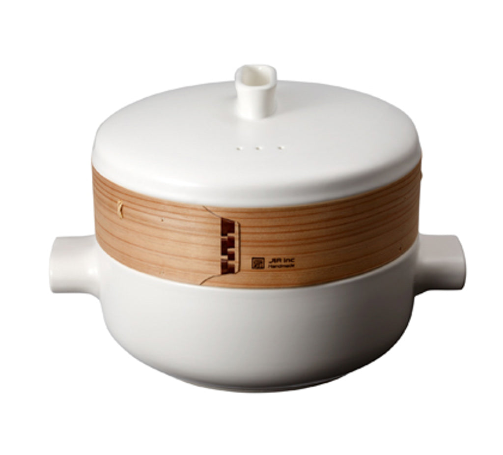 JIA Inc Steamer and Rice Cooker Bundle | Large