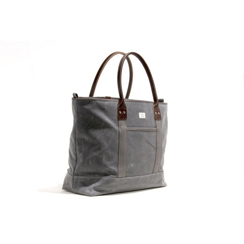 Billykirk No. 296 Large Zippered Tote | Ash Wax