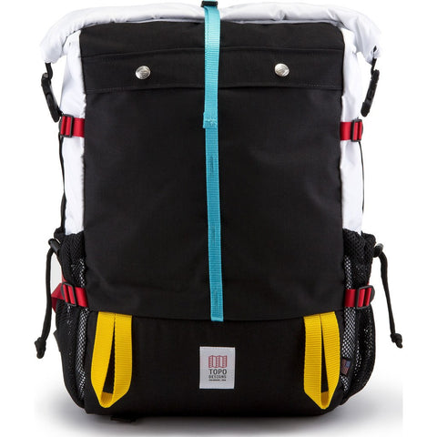 Topo Designs Mountain Roll Top Backpack | Silver