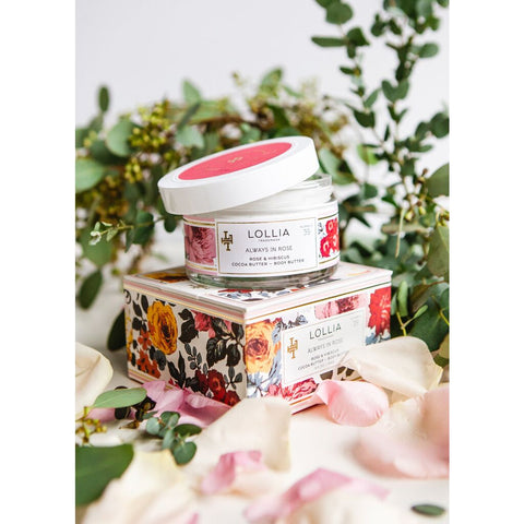 Lollia Whipped Body Butter | Always in Rose