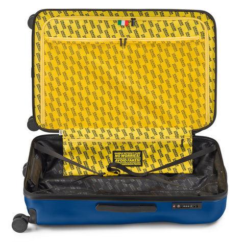 Crash Baggage Icon Trolley Suitcase - Deep Blue