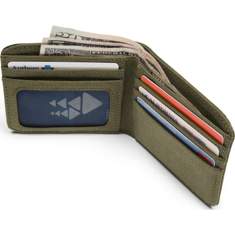 Chrome Nylon Bi-fold Wallet | Ranger/Black AC-136-MLBK