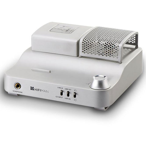 Hifiman EF100 110V Hybrid Vacuum Tube Headphone Amplifier | Silver